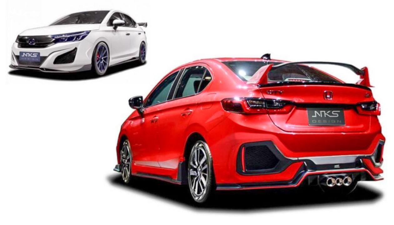 2020 Honda City Transformed Into Acura NSX Lookalike