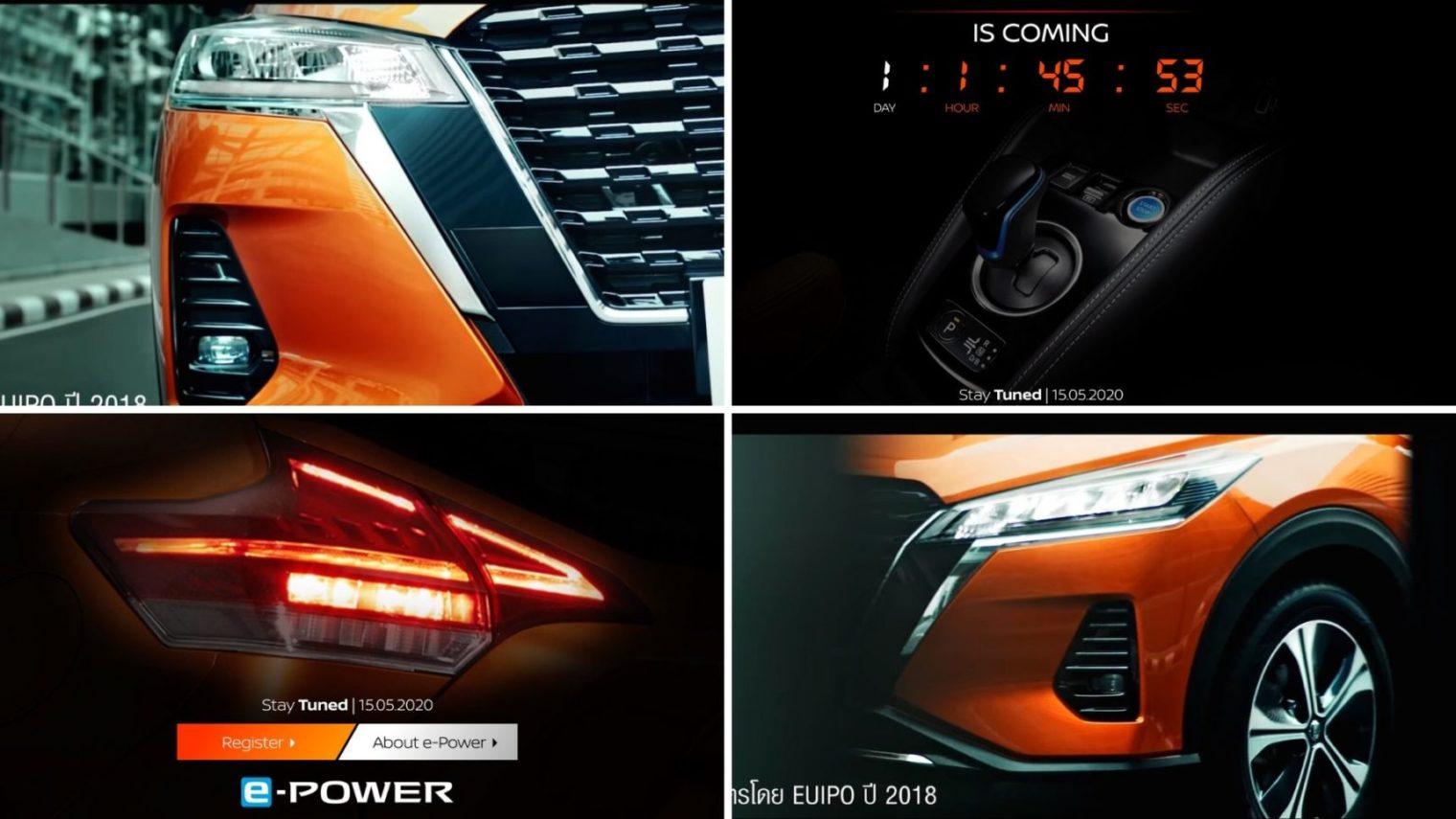 Self-Charging 2020 Nissan Kicks e-Power Launching Tomorrow; Teased In Video
