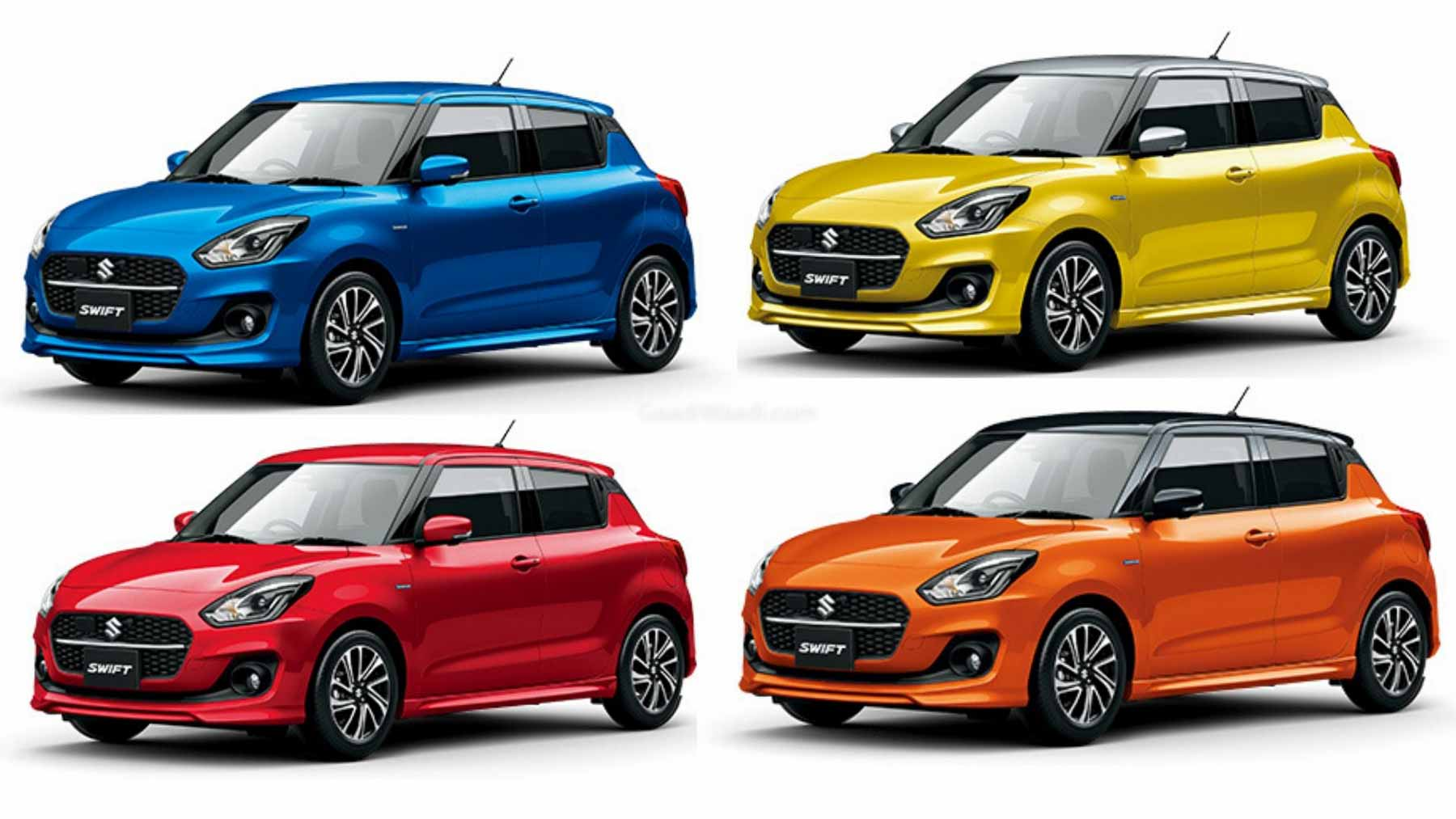 2020 Swift Facelift – All 10 Colours, Specs & Features Explained