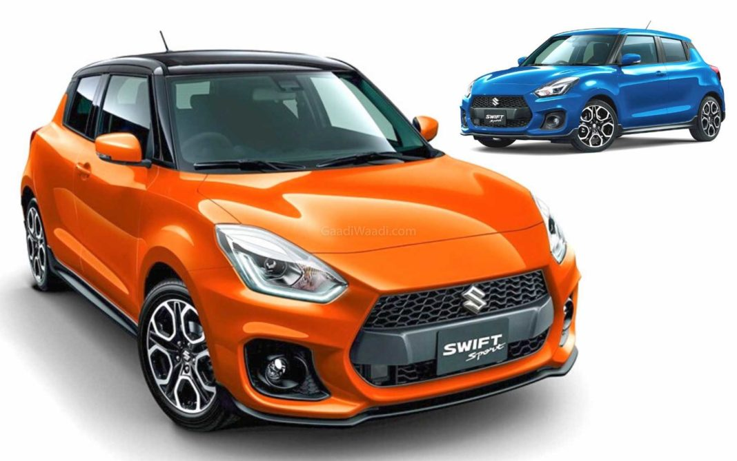 2020 Suzuki Swift Sport With More Features, New Colours ...