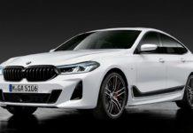 2021 BMW 6 Series Gran Turismo Front