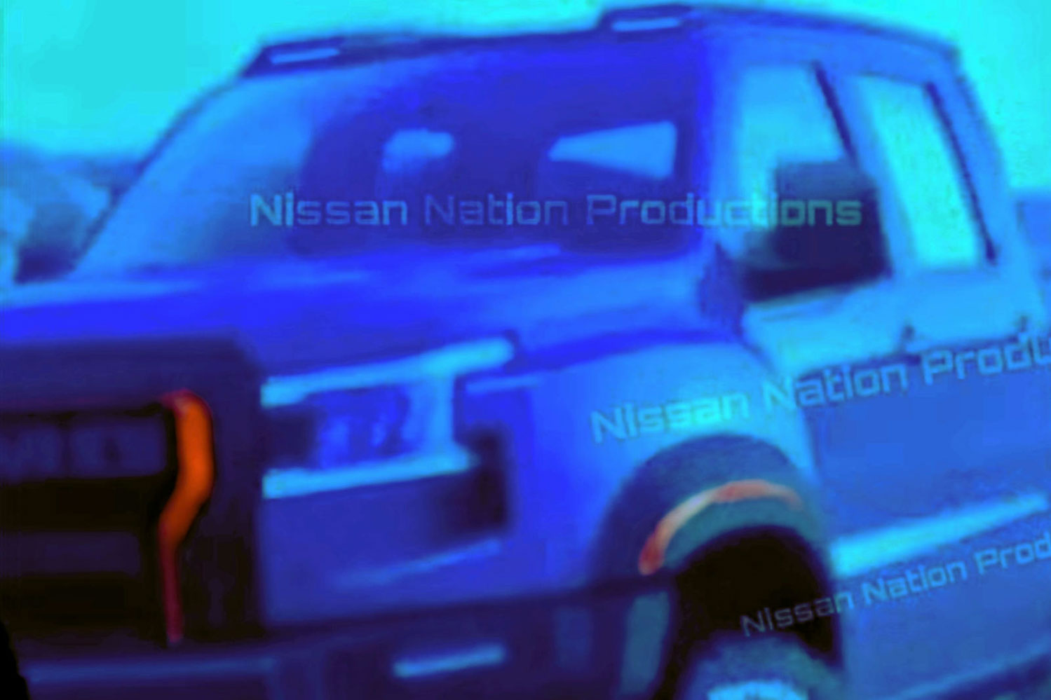 New-Gen 2021 Nissan Frontier Pickup Truck Leaked Online