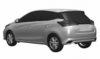 2021 Toyota Yaris facelift Sketch-1-2