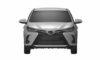 2021 Toyota Yaris facelift Sketch-2