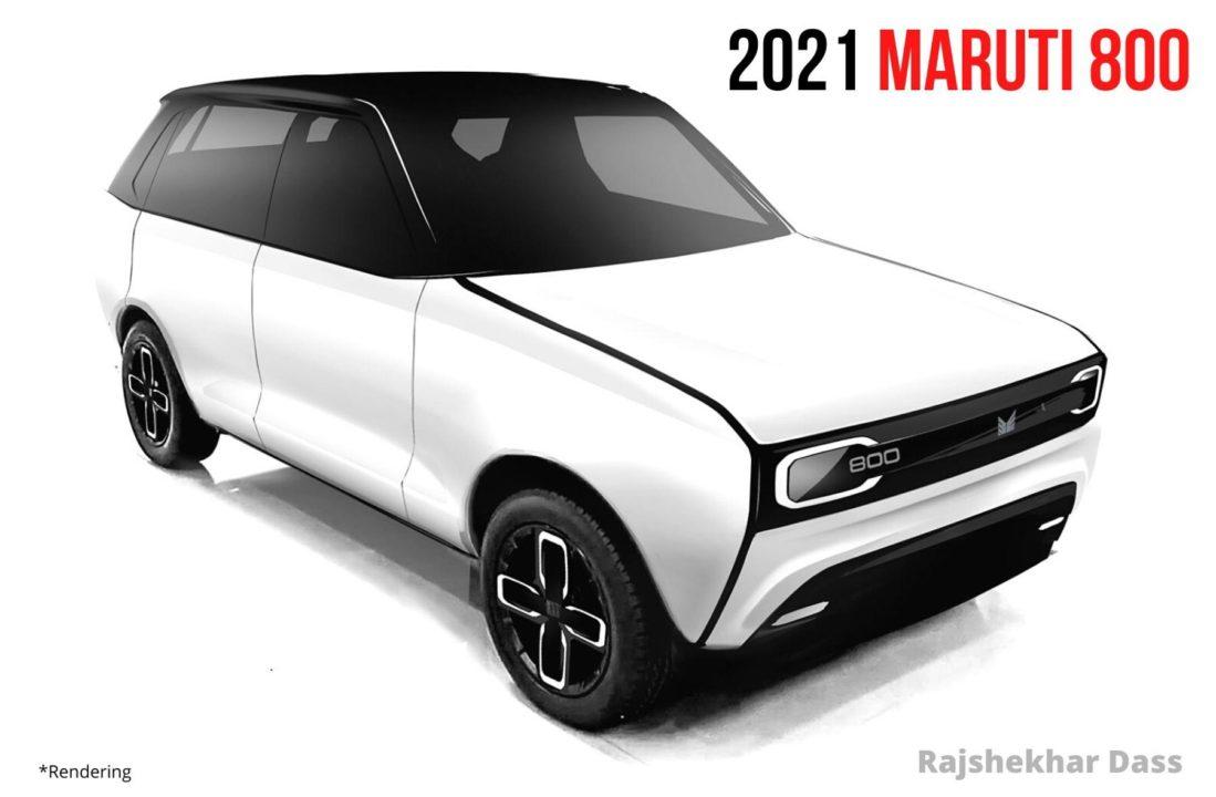 2021 Maruti 800 Imaginative Rendering, Looks Fantabulous