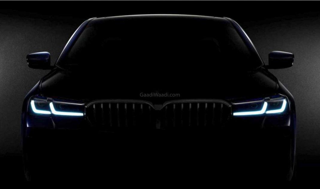 BMW 5 Series Teaser-1