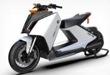 BMW Motorrad E-Scooter Concept by Carota Design