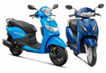 BS6 Hero Pleasure Plus Vs Honda Activa 6G-1