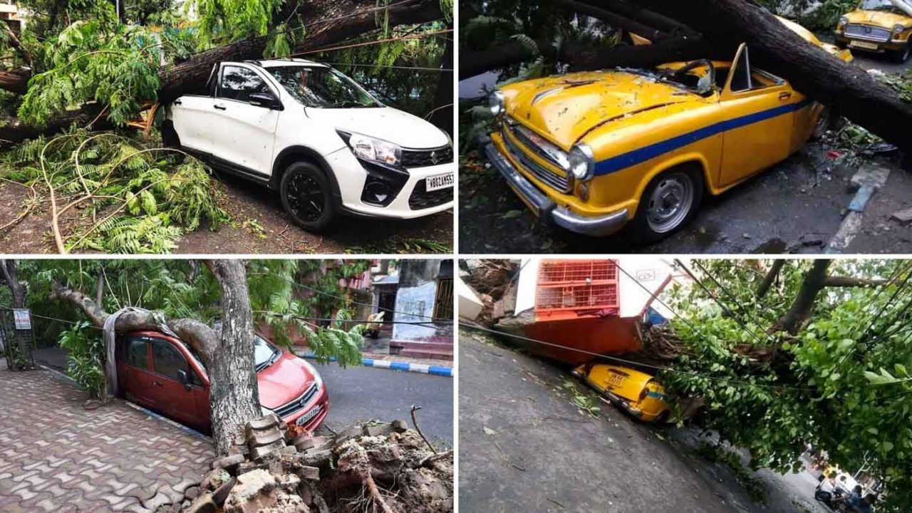 Cyclonic Storm Amphan Destroyed Vehicles-1-4