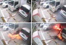 Electric Cars catch Fire On Charging-1