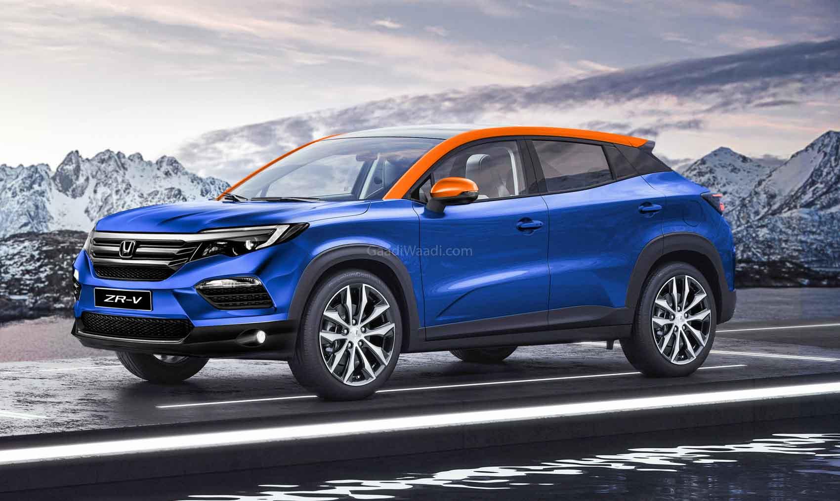Honda To Launch 2 New SUVs (Vitara Brezza & Seltos Rival) In India