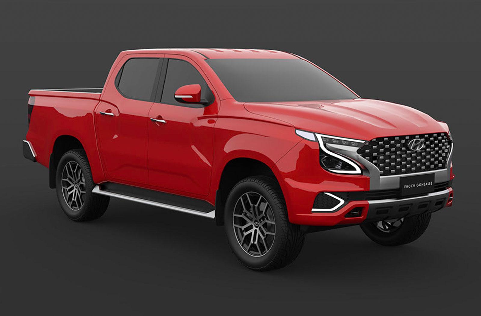 Hyundai Tarlac Pickup Truck Could Rival Ford Ranger, Rendered