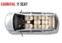 Kia Carnival 11 Seat