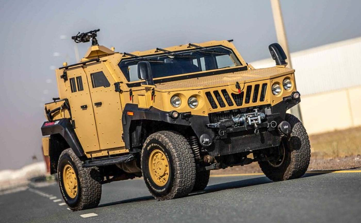 Mahindra ALSV Armoured Specialist Vehicle Is Built To Defend