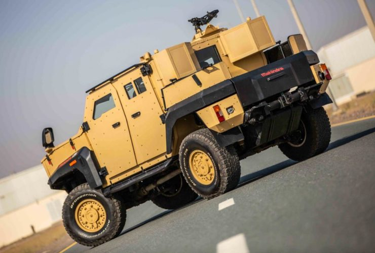 Mahindra ASLV Armored Vehicle-3