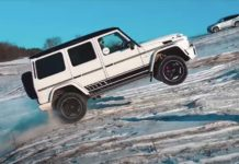 Merc G63 AMG Takes On Off-Road Adventures-1