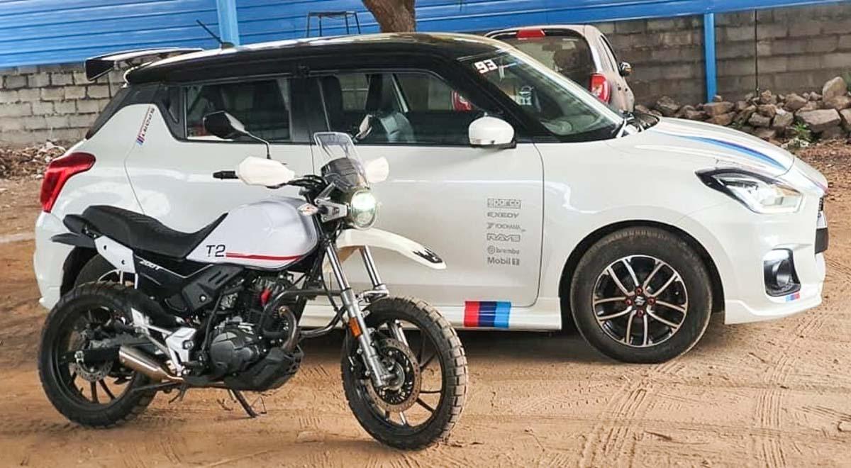 Modified Maruti Suzuki Swift-3
