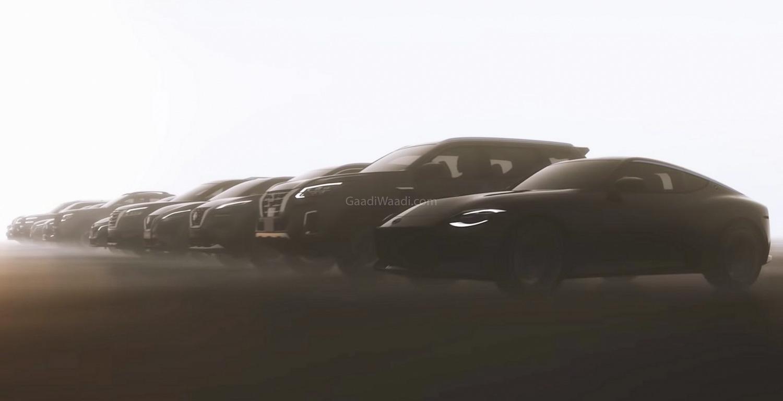 Nissan Teases 12 New Models – 400Z, Navara Facelift, X-Trail, Qashqai