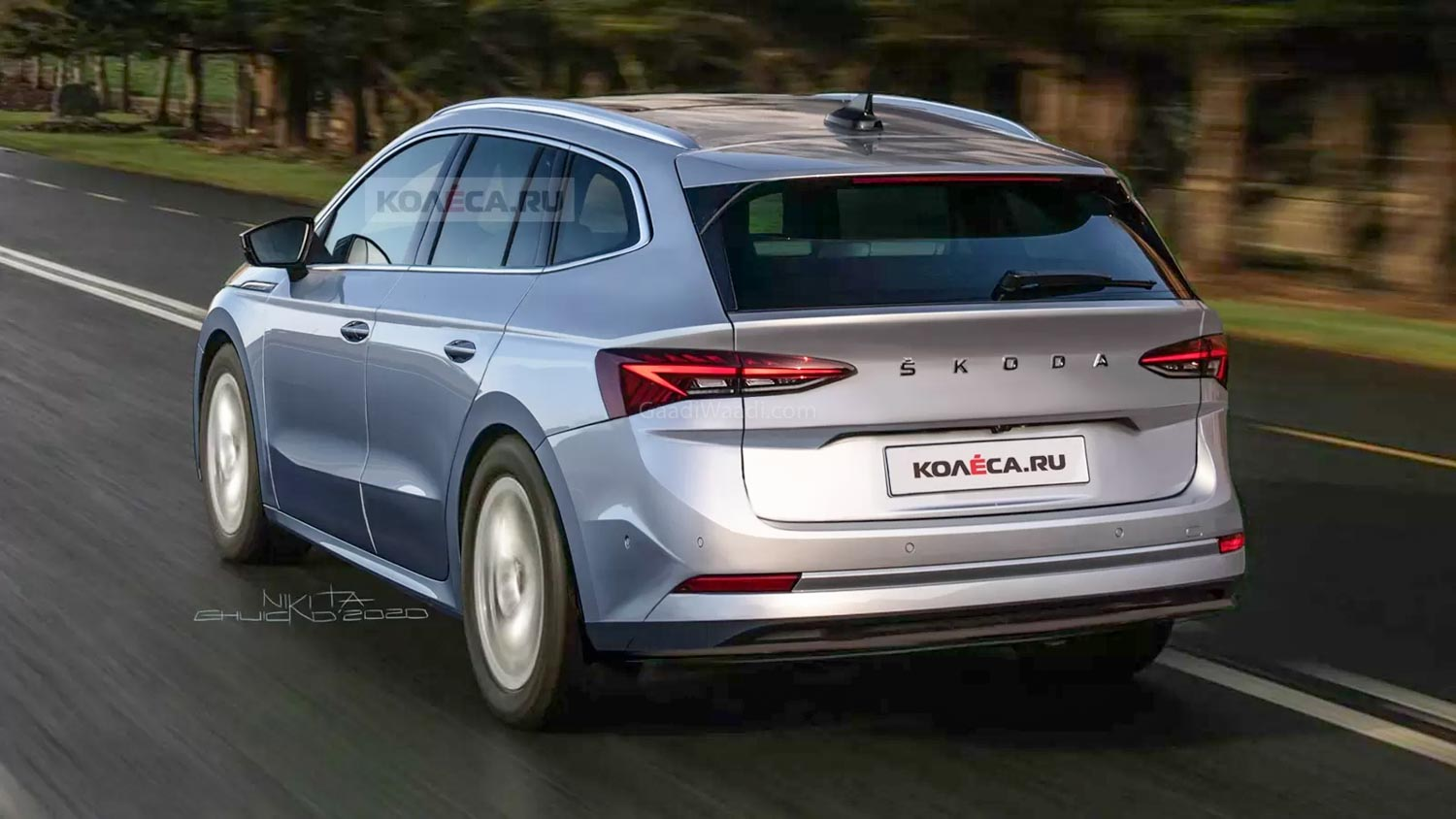 Production-Spec Skoda Enyaq EV Rendered; Launch Later This Year