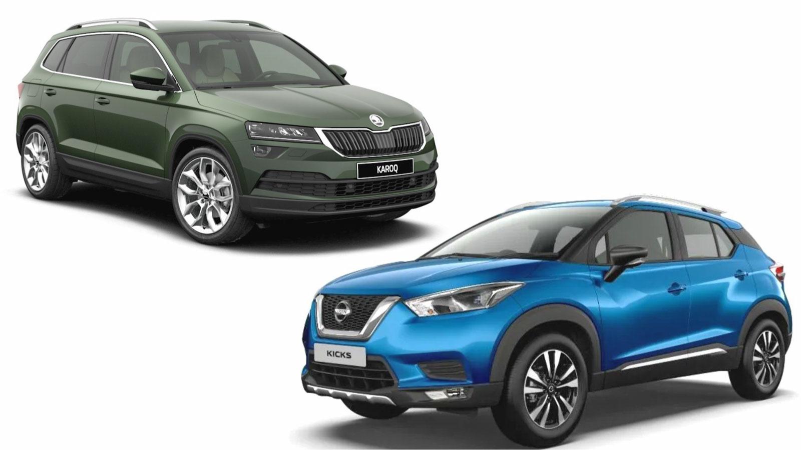 Nissan Kicks Has More Power Than Skoda Karoq For Half Its Price