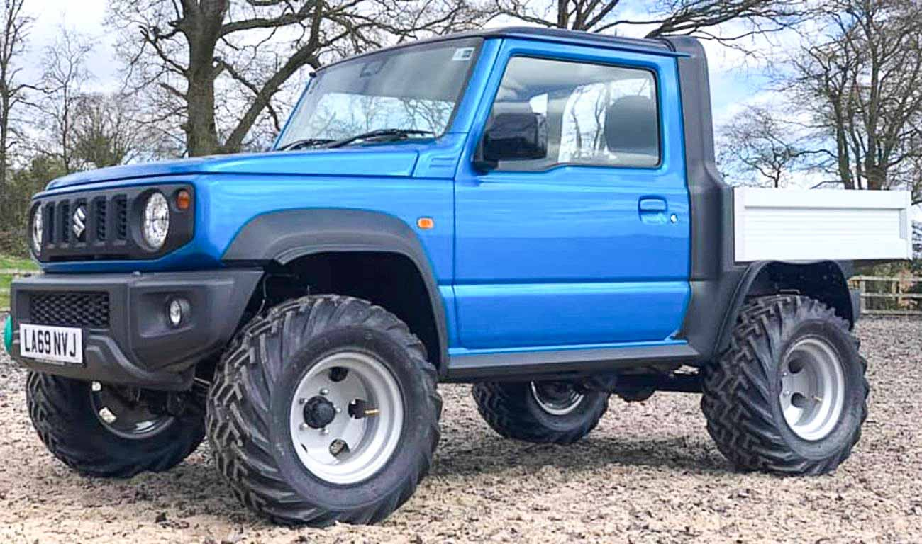 This Is One Of The Best Modified Suzuki Jimny Pickups We've Ever Seen