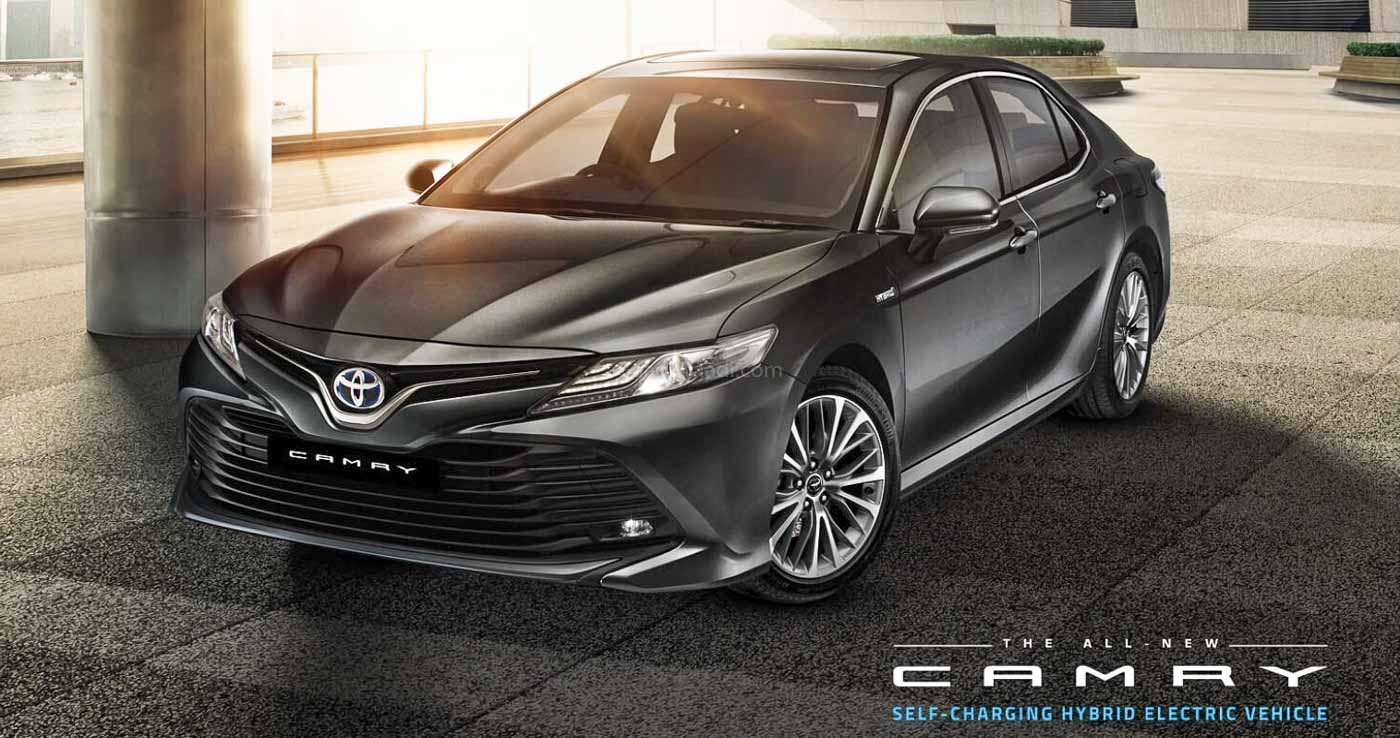 BS6 Toyota Camry Launched In India From Rs 37.88 Lakh Onwards