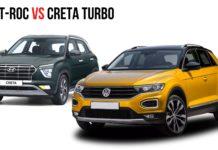 VW T-Roc VS Creta Turbo