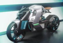 Yamaha FZ Electric Motrocycle Concept-1