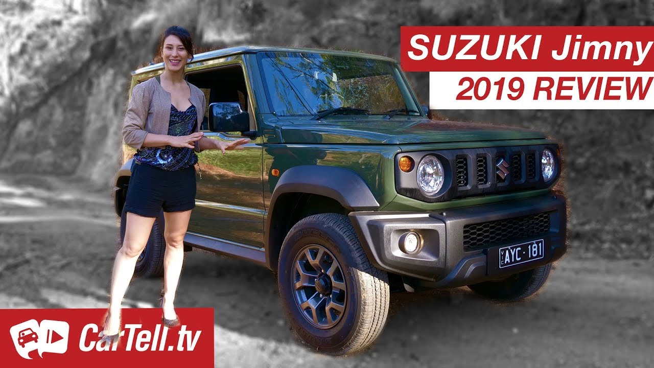 Here Is A Complete Review Of The India-Bound Suzuki Jimny – Video