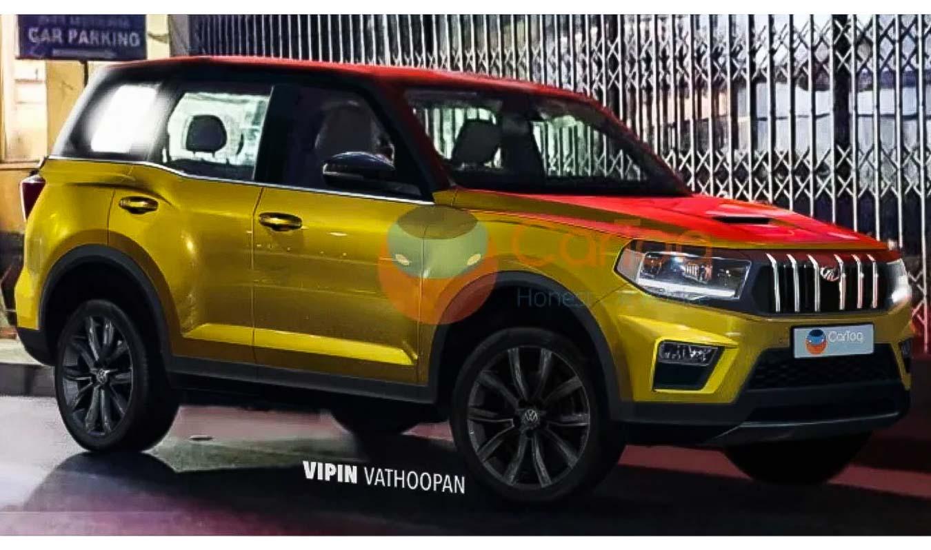 2021 Mahindra Scorpio To Look Like This – Spyshot Based Rendering
