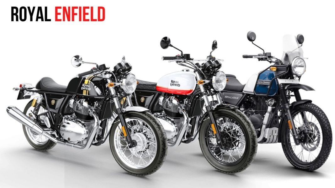 royal enfield recall