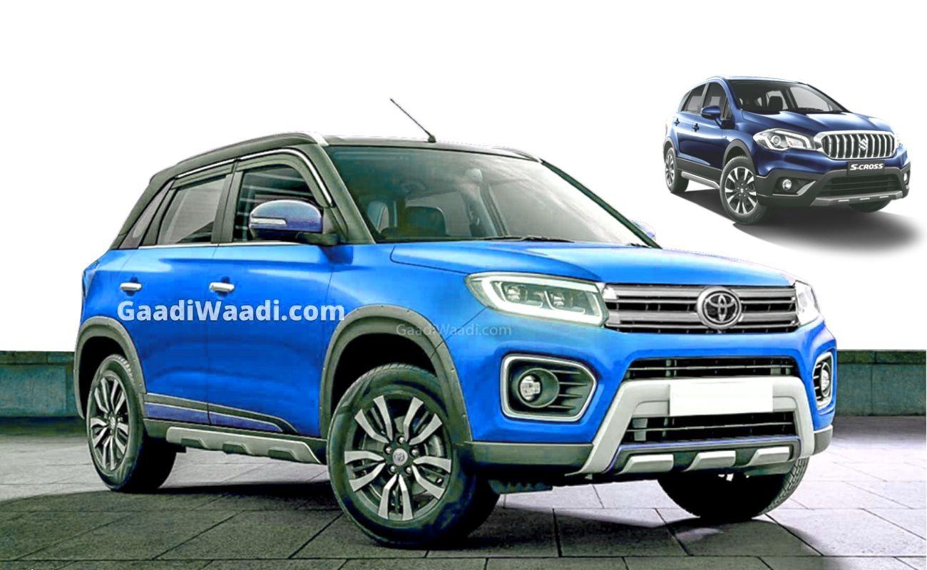 Maruti S-Cross Petrol & Toyota Urban Cruiser Production To Begin Soon