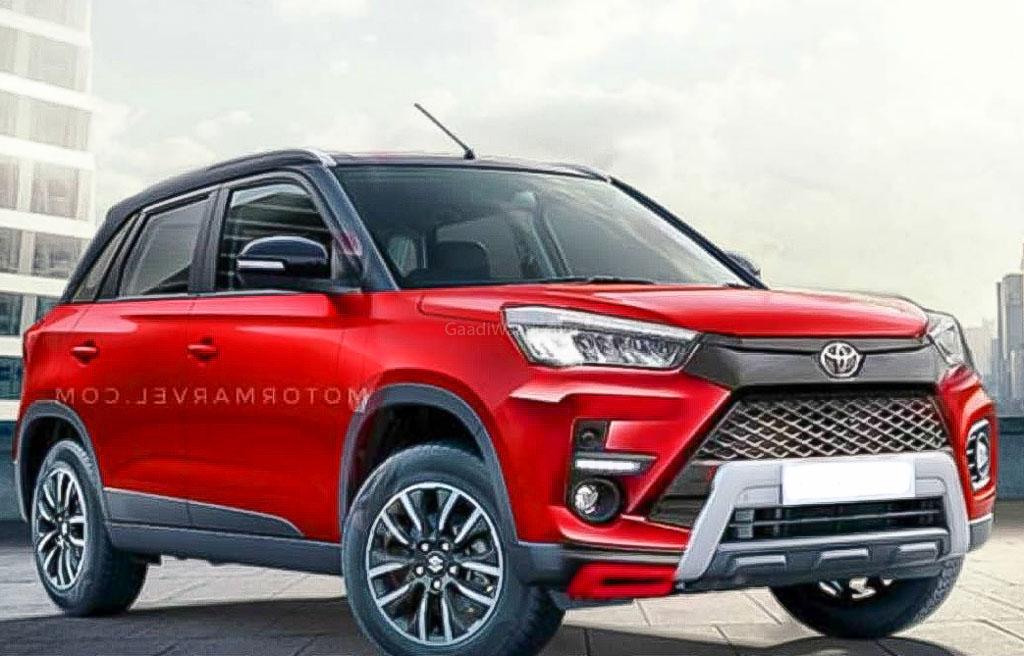 Toyota Urban Cruiser Suv Vitara Brezza Rival Imagined In New Rendering