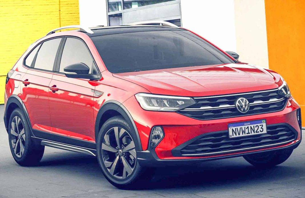 volkswagen's smallest crossover coupe '2021 vw nivus' revealed