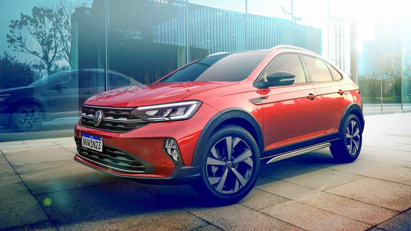 volkswagen's smallest crossover coupe '2021 vw nivus' revealed