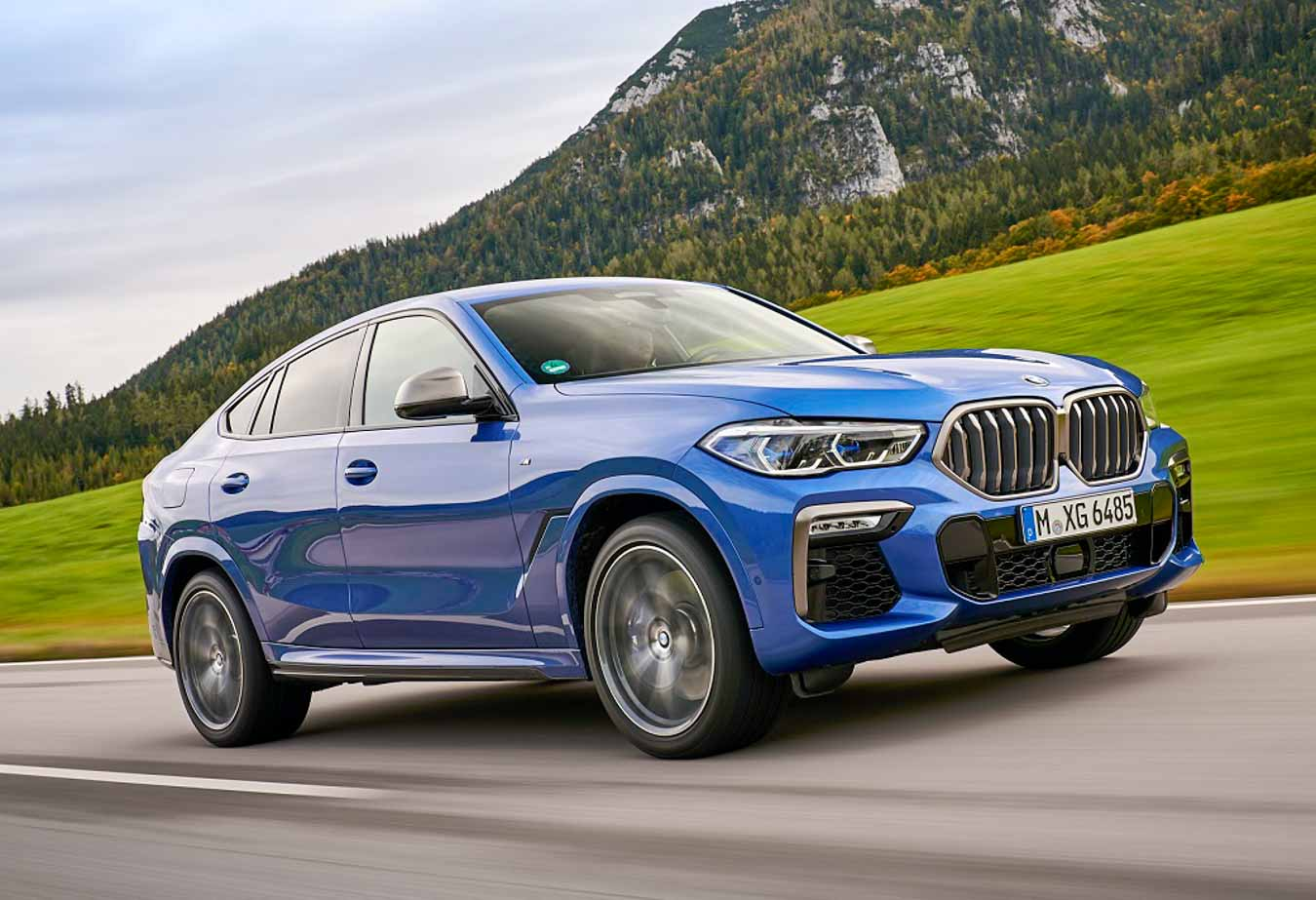 All-New 2020 BMW X6 Launched In India; Priced At Rs. 95 Lakh