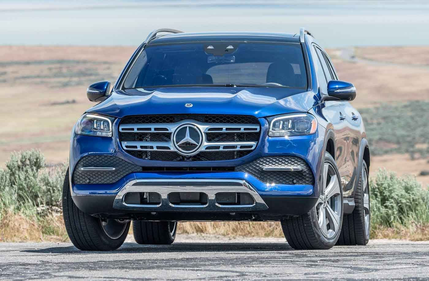 2020 Mercedes-Benz GLS Launched In India; Priced From Rs ...