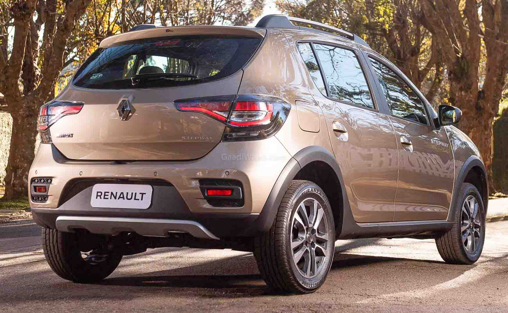 Renault Kiger SUV (Vitara Brezza Rival) Interior Spotted For The First Time