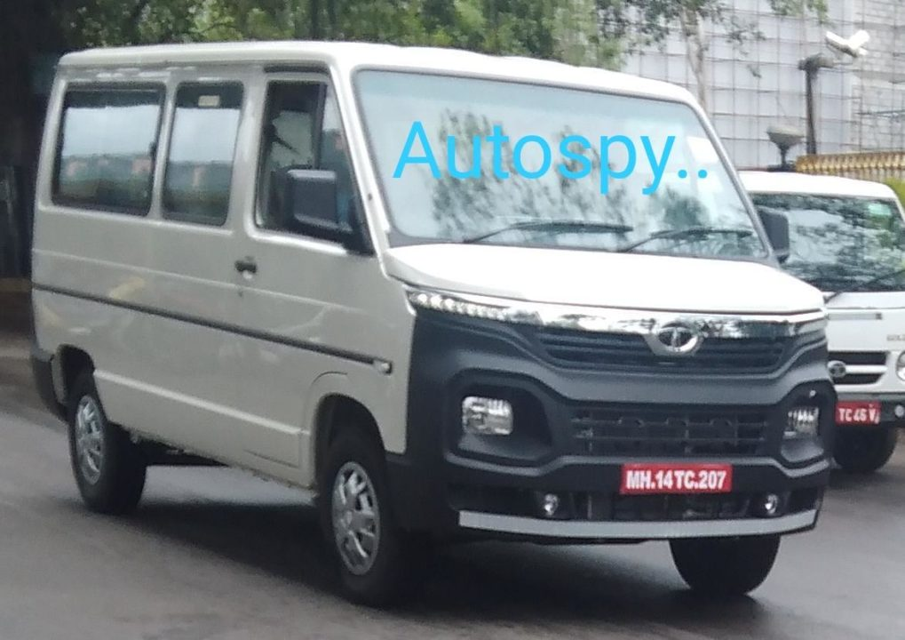 2020 Tata Winger Spied