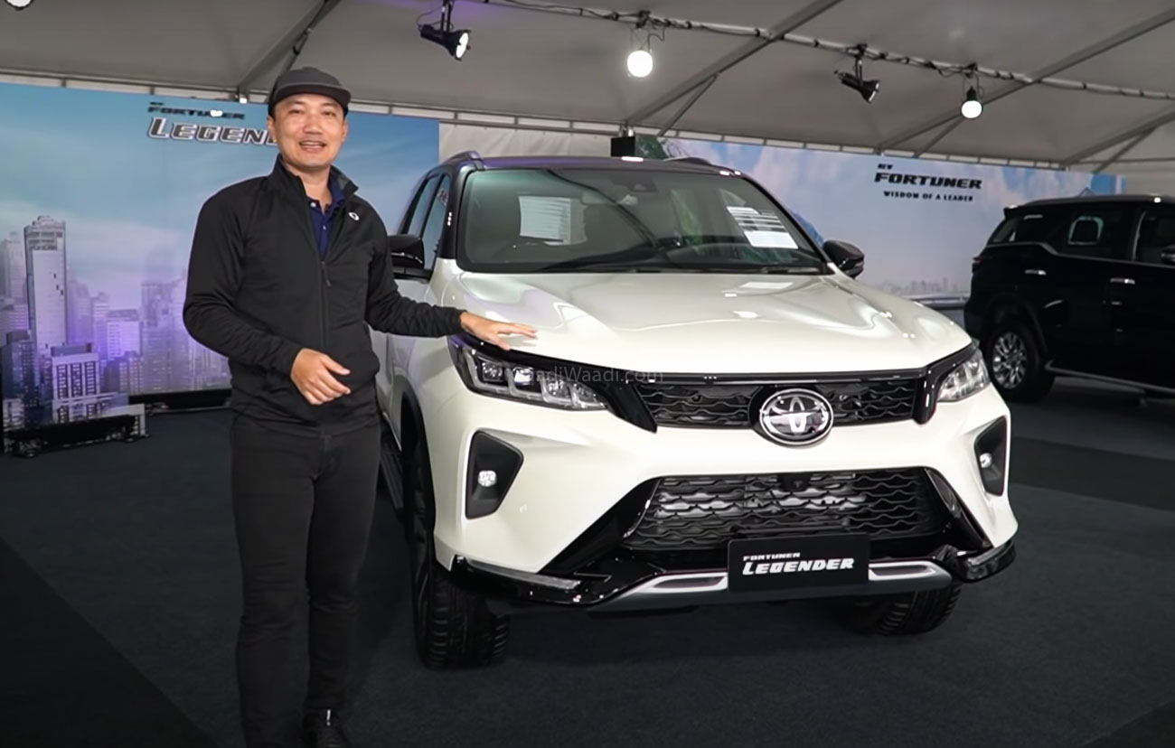 2020 Toyota Fortuner Legender Explained Fully In Walkaround Video