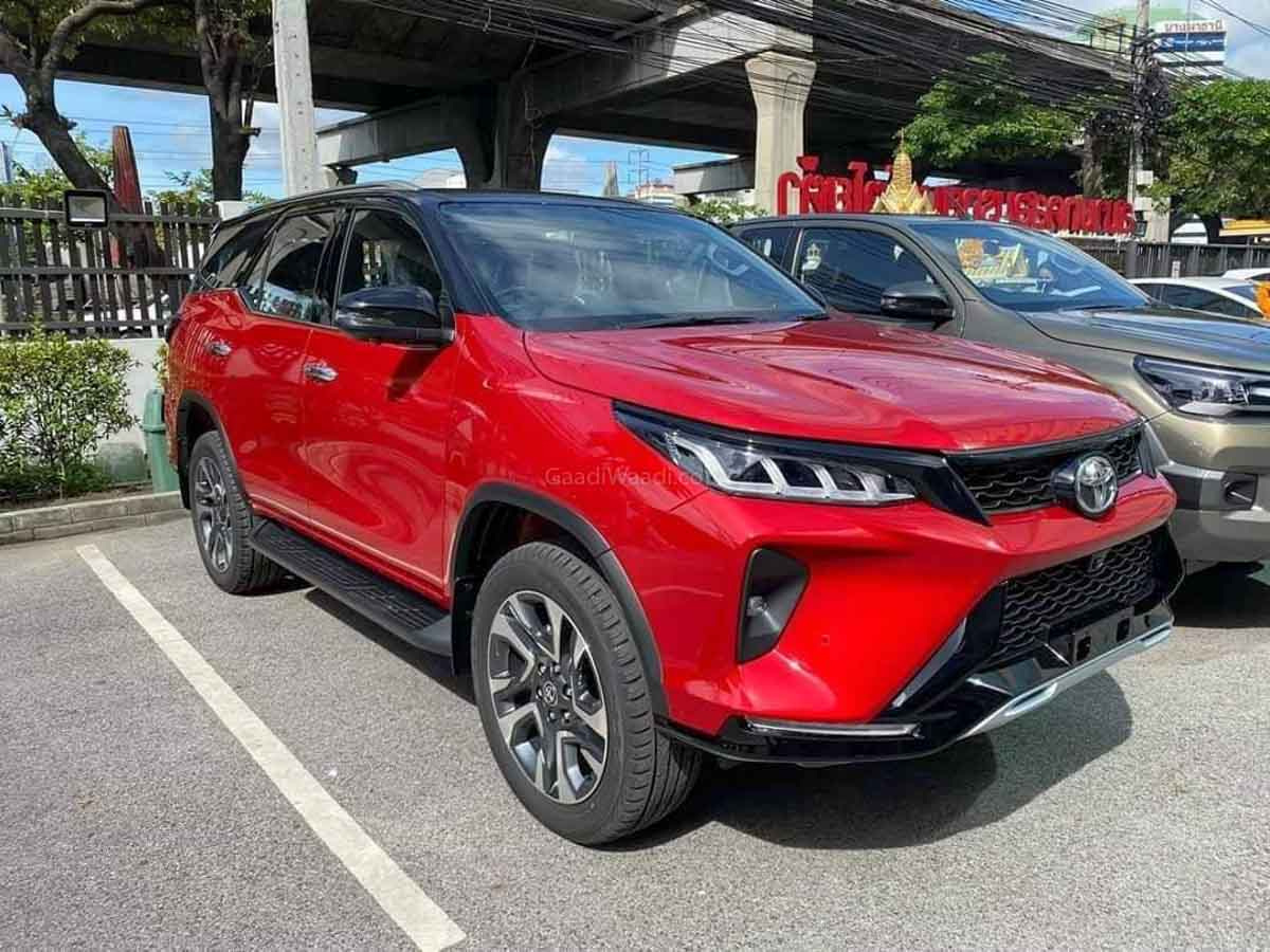 2020 Toyota Fortuner Legender Spotted In The Open; Looks ...