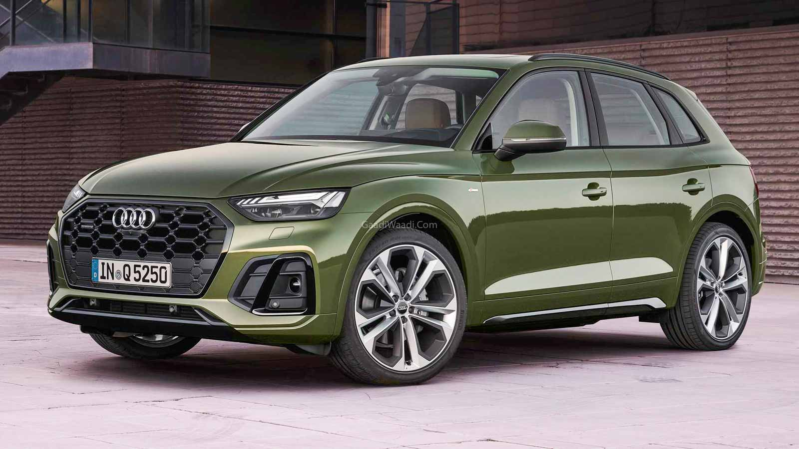 India-Bound Audi Q5 Facelift Revealed With Revised Styling