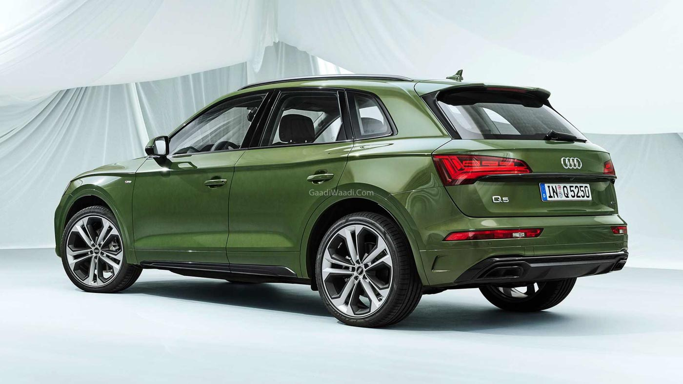 indiabound audi q5 facelift revealed with revised styling