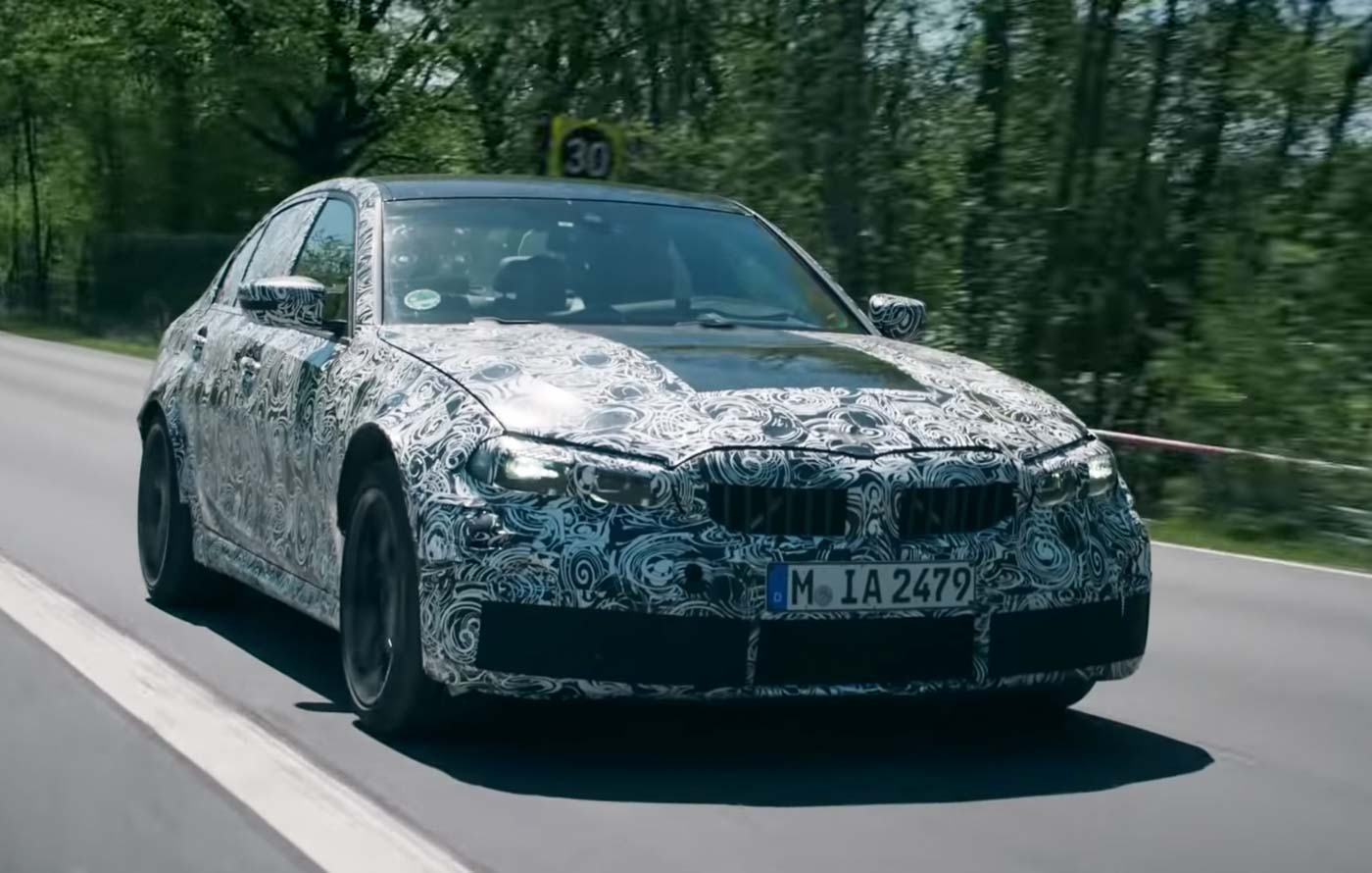 2021 BMW M3 Showcased In Pre-Production Guise in Official Video