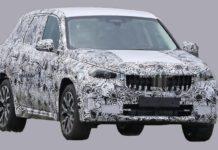2021 BMW X1 Spied Front