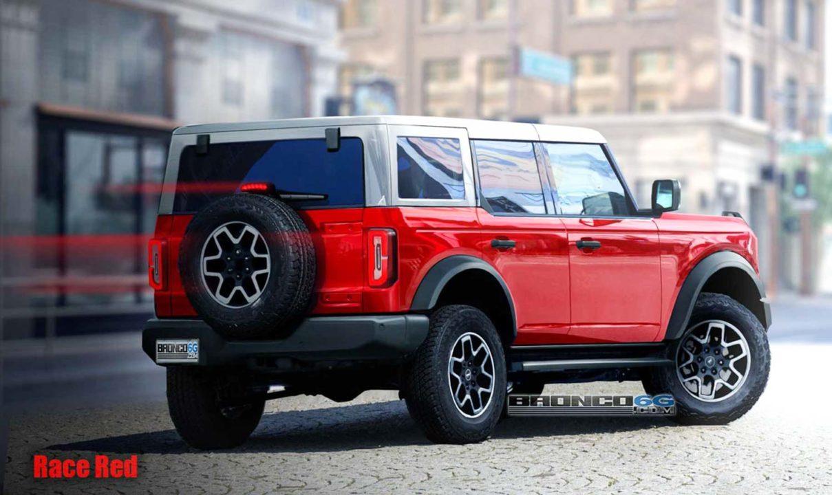 2021 Ford Bronco 4-Door Rendering-1