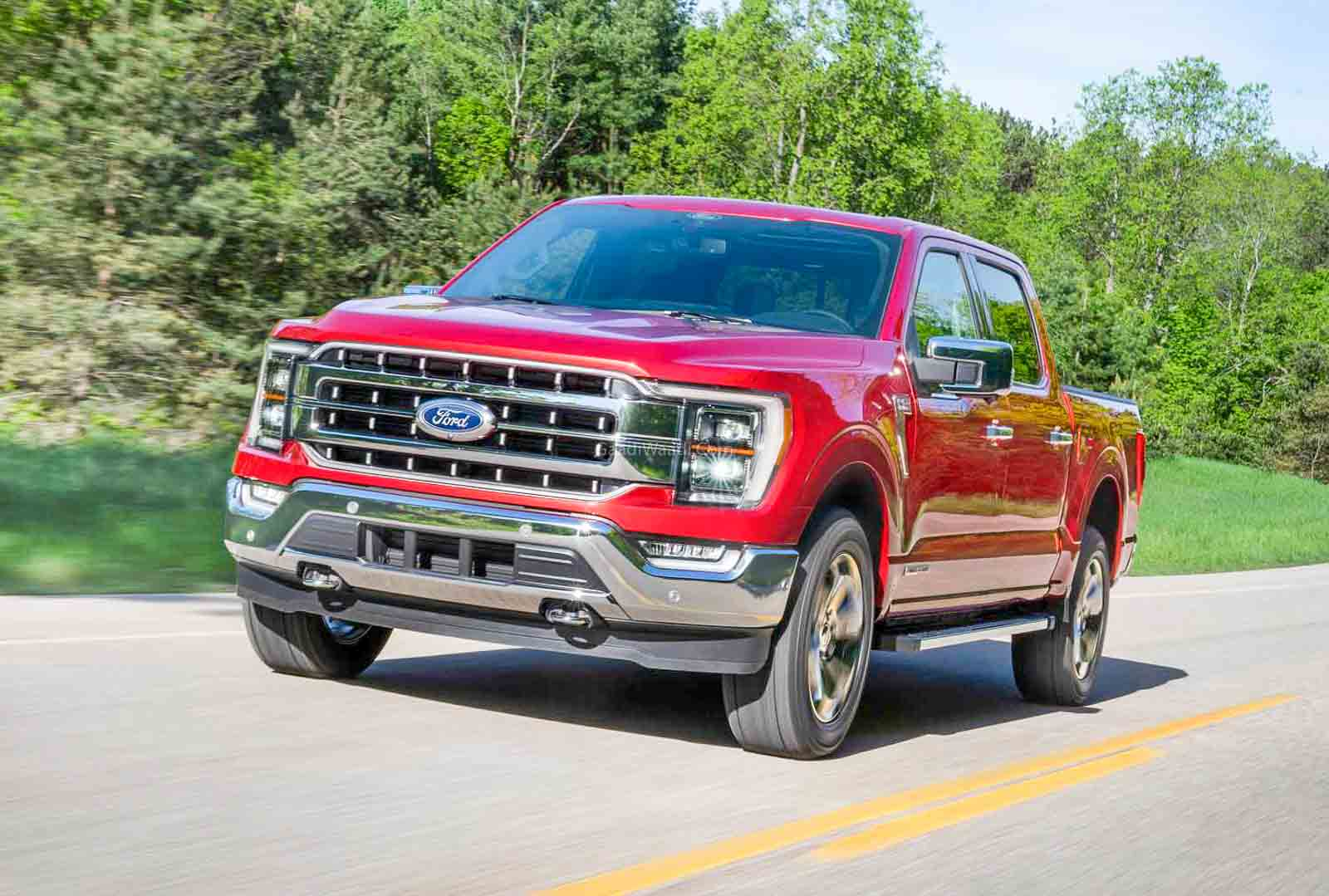 new-gen 2021 ford f-150 revealed with v6 hybrid engine