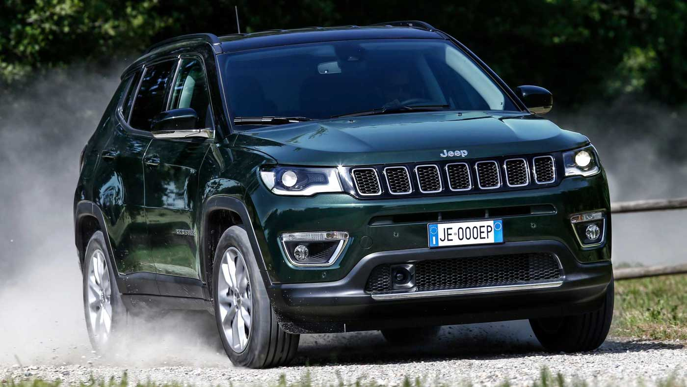 2021 Jeep Compass Facelift Spied For The First Time In India