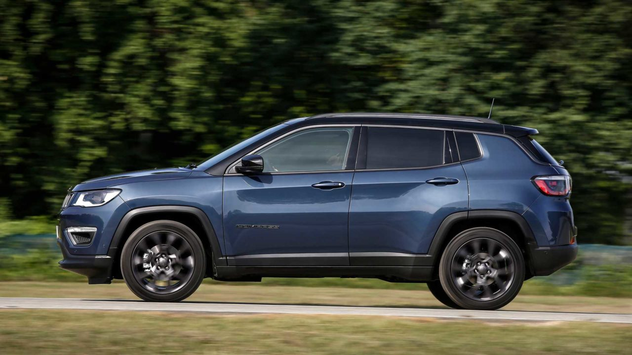 2021 Jeep Compass Facelift Side