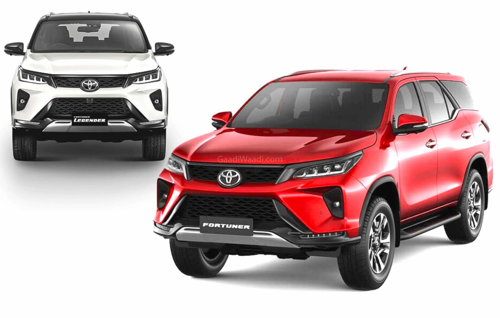 2021 Toyota Fortuner VS Fortuner Legender Explained In Official Video
